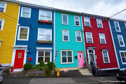 Jellybean Row Newfoundland and Labrador Drunkphotography.com