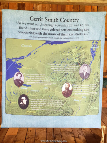 Gerrit Smith's country  Abolitionists
